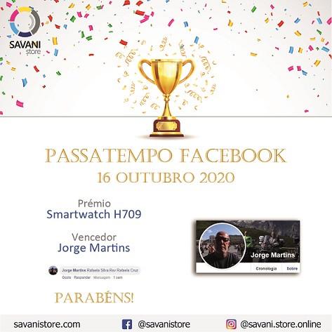 Passatempo Facebook 16 Outubro