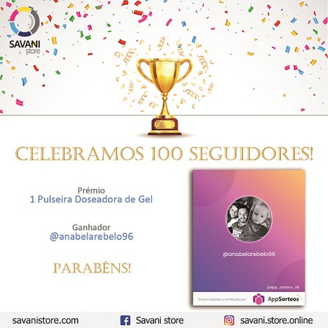 Giveaway 100 Seguidores