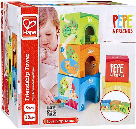 Torre da Amizade Pepe and Friends - Hape