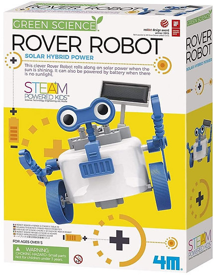 Rover Robot  - 4M - Green Science