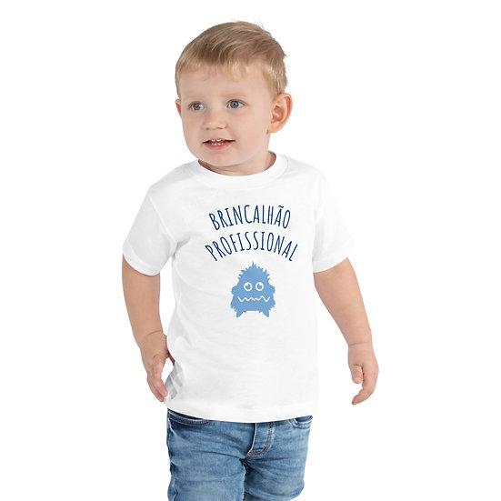 T-Shirt Menino - BRINCALHÃO PROFISSIONAL