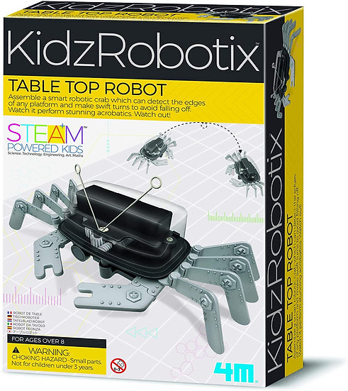 Robô Carangueijo - 4M - KidzRobotix