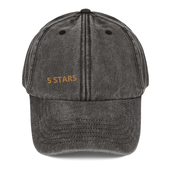 Chapéu vintage - 5 STARS