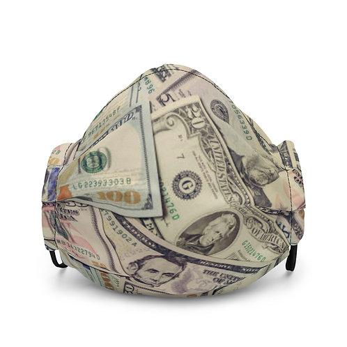 """MONEY TALKS"" face mask"