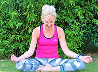Seiza yoga houding