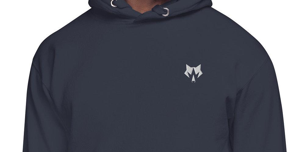CreationWolf Embroidered Mens Hoodie