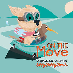 On the Move - songs for New Zealand kids by Itty Bitty Beats