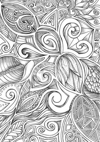 HOOZ Art Colouring Series 4