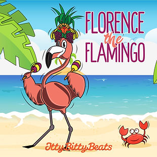 Florence The Flamingo - songs for New Zealand kids by Itty Bitty Beats