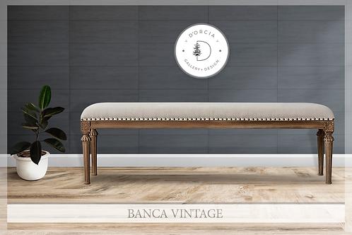 Banca Vintage (Incluye envío)
