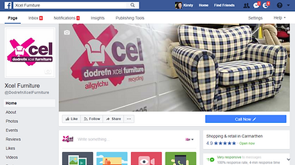 Xcel furniture facebook page