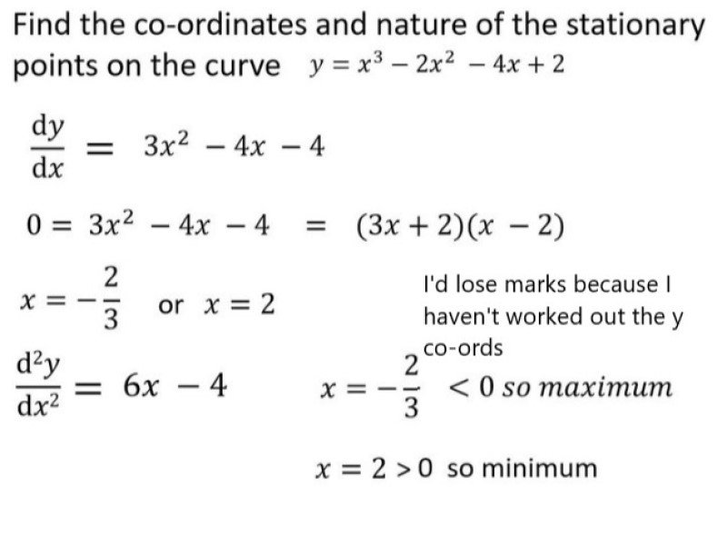 Additional maths solution