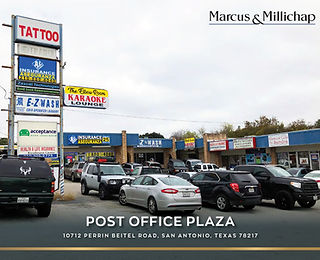 Marcus and Millichap Listing: Post Office Plaza