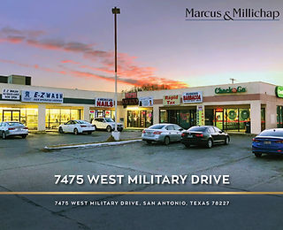 Marcus and Millichap Listing: 7475 West Military Drive