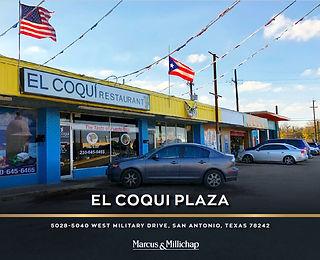 Marcus and Millichap Listing: El Coqui Plaza