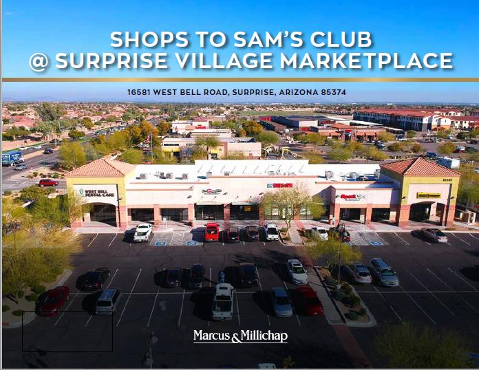 Shops to Sam's Club @ Surprise Village Marketplace