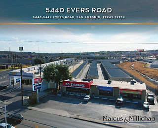 Marcus and Millichap Listing: 5440 Evers Road