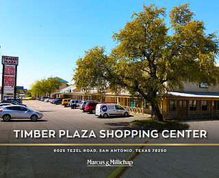 Marcus and Millichap Listing: Timber Plaza Shopping Center