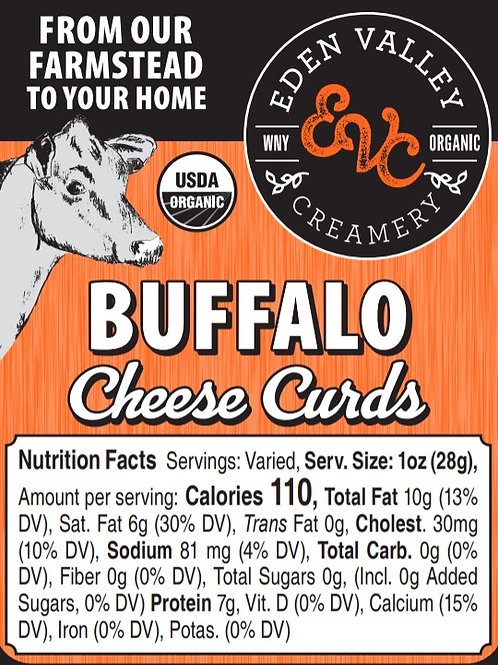 Buffalo Cheese Curd