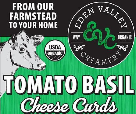 Tomato Basil Cheese Curd