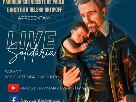 Paróquia promove live solidária  em prol do Helena Antipoff