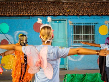 Fantasia e contação de história encerram  Semana da Criança no Helena Antipoff