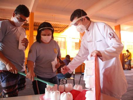 IHA e Unifenas se unem em projeto de higienização bucal