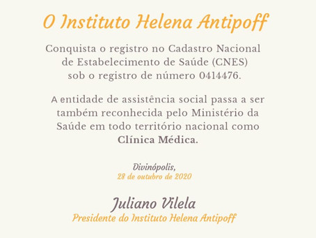 Instituto Helena Antipoff conquista  certificados municipal e federal