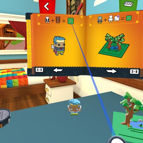 LEGO BrickHeadz VR
