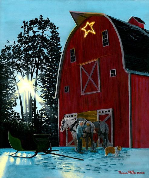 """""""Christmas Light""""Original-SOLD!!"""