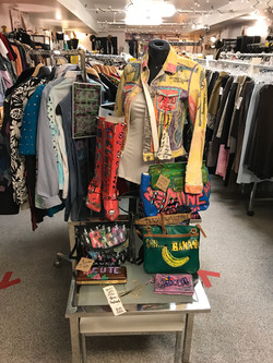 DovAlexander Display at Thrift Couture