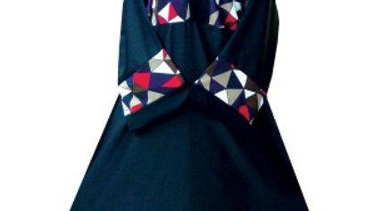Colourful Dress Abaya