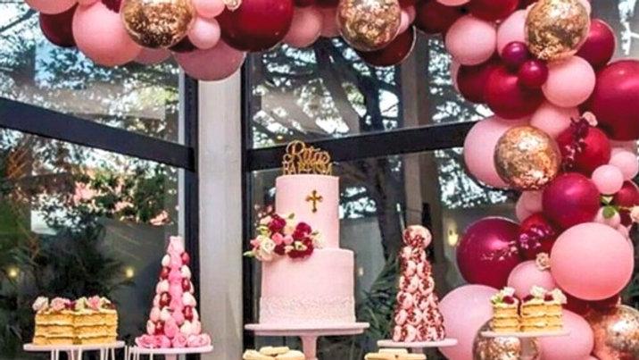 Pink Balloon Garland Kit