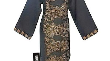 Dress Abaya with Rhinestone