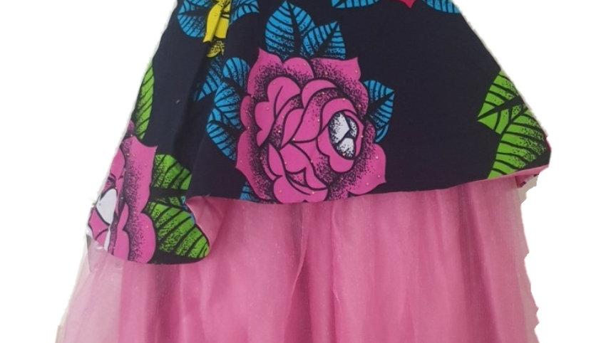 Ankara Princess Dress 👗