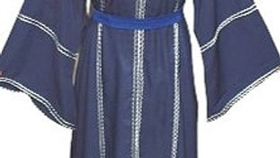 Open Abaya Navy Blue