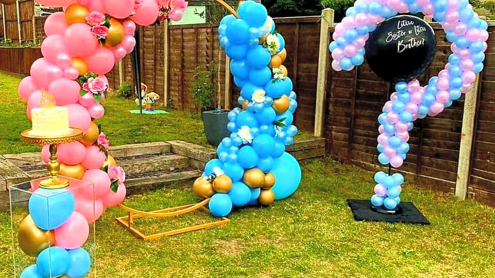 Balloon structure priced per design