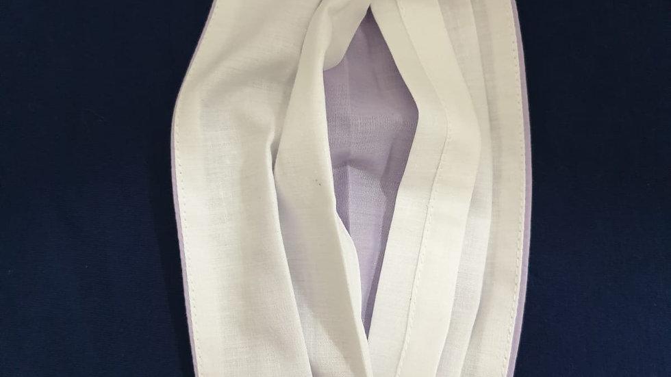 Plaited fabric nose mask
