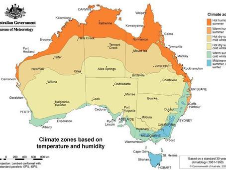 รู้จักกับออสเตรเลีย สภาพอากาศ และภูมิประเทศ