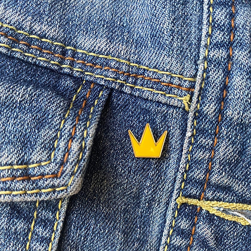 Crown Enamel Pin - Limited Edition