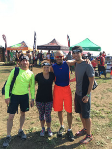 First Spartan Race For Brittney, Eugeino, and Doug
