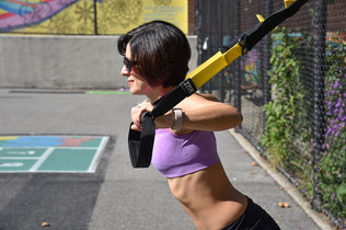 Park Workout with TRX