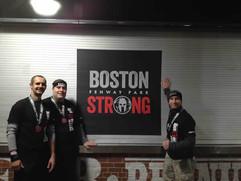 Fenway Park Spartan Race. Boston Strong
