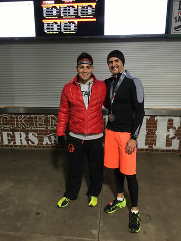 Me and Isaiah Vidal, Spartan Race Champion and team captain from the ultimate spartan team Challenge.