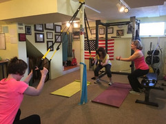 Workout Group Session With Coach Anna At Our studio