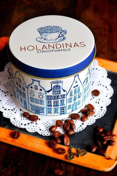 tarro tradicional de Delft Blauw (sin galletas)