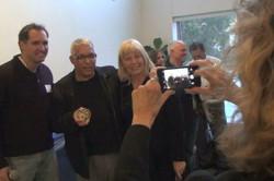 Len receives his HCT Award