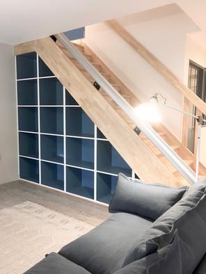 Salle à manger - escalier sur mesure