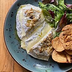 Queso Brie Templado con Trufa y Frutos Secos