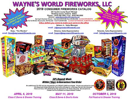 Awesome Wholesale Fireworks l Wayne's World Fireworks, LLC l